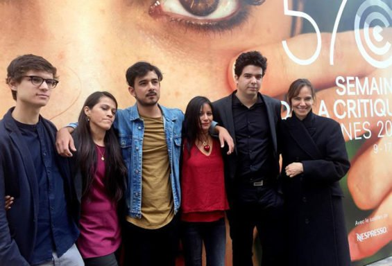 Mexican filmmakers in Cannes this week.