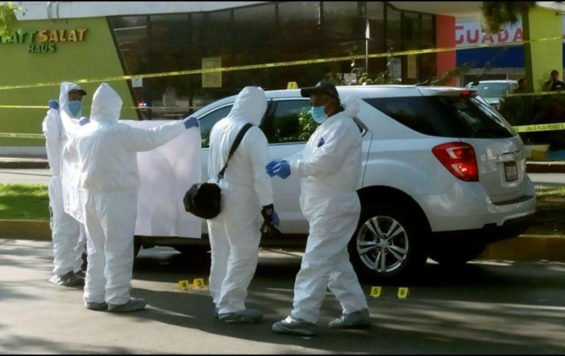 Crime scene investigators are kept busy.