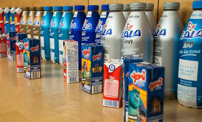 Dairy company Lala has a reduced presence in the south of Tamaulipas.