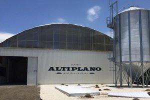 The new malting plant in Puebla.