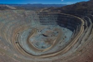 The Dolores open-pit mine in Chihuahua.