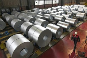 The US announced steel and aluminum tariffs this morning.