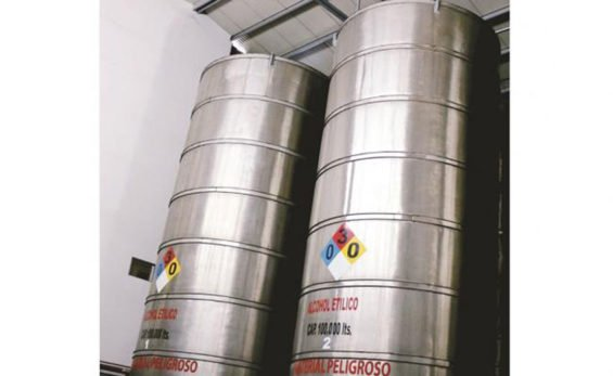 The tequila was being stored in several containers in a Jalisco warehouse.
