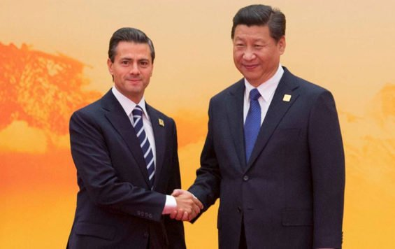 President Enrique Peña Nieto and Chinese President Xi Jinping: Mexico has been seeking to boost trade with China.