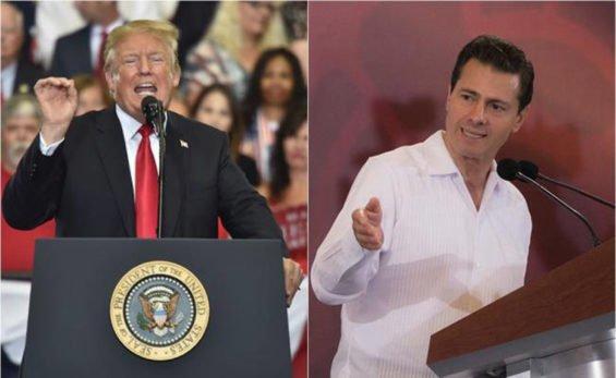 Trump and Peña Nieto: the debate resumes.