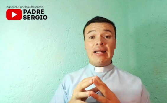 Padre Sergio, YouTube star.