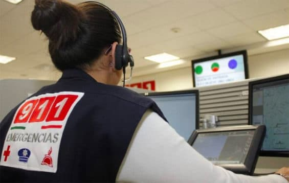 An emergency call center operator.