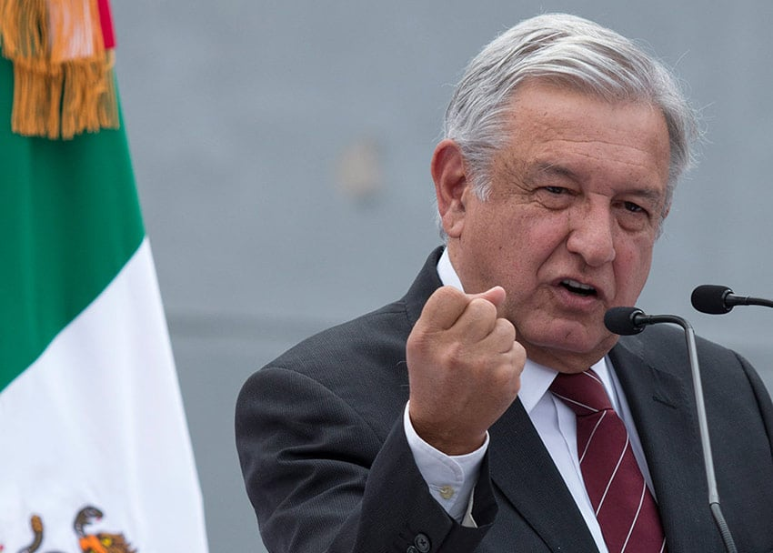 Peso may have already priced in an election win by AMLO.