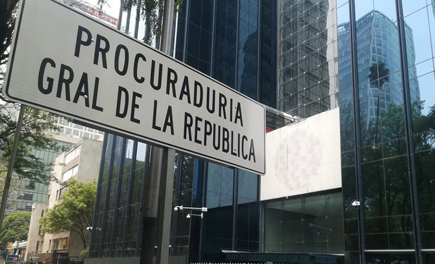 Attorney General's headquarters in Mexico City