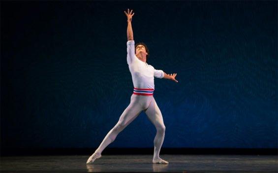 Mexican ballet dancer Isaac Hernández.