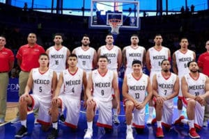Mexico's national basketball team.