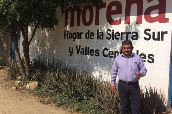 Morena candidate López, ambushed in Oaxaca.