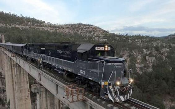 The Chepe Express is a new Copper Canyon rail service.