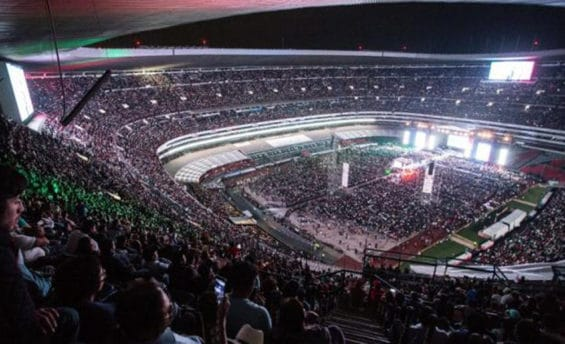 Thousands turned out last night for AMLO's campaign finale. It was dubbed AMLOFest.