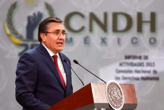 Human Rights Commission head González.