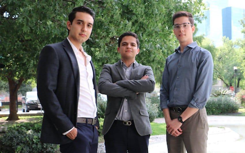 The trio of engineers behind Harvest.