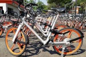 Mobike's bicycles are being targeted by thieves.