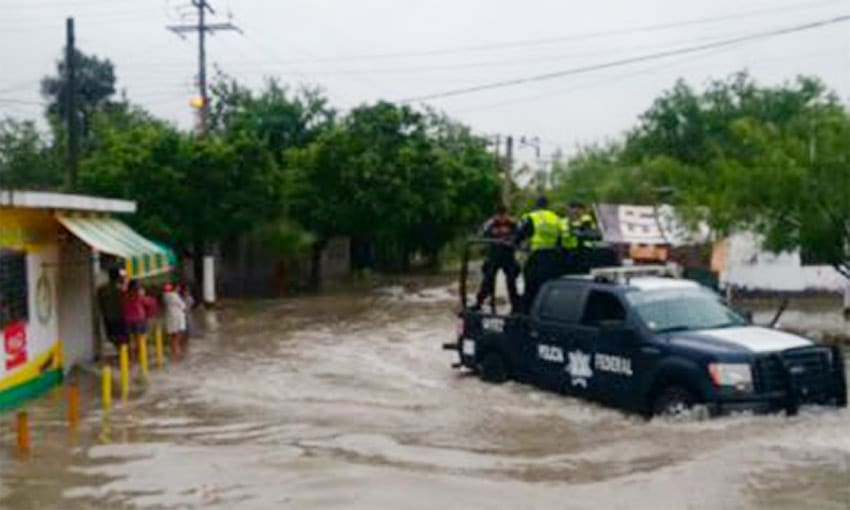 Flooding in Tamaulipas today.