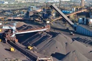 A coker plant operated by steelmaker Altos Hornos de México.