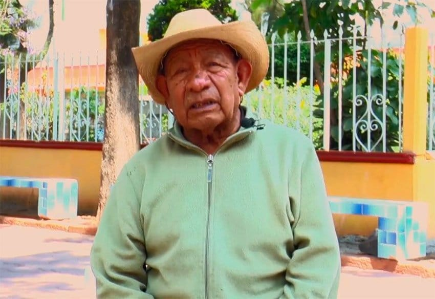 Marcial Martínez: back to school at 101.