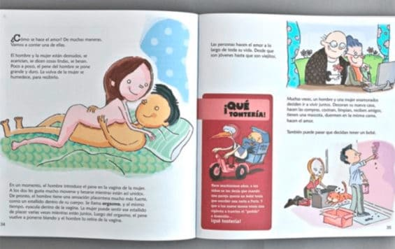 'How to make love:' some parents aren't happy with new textbook material.