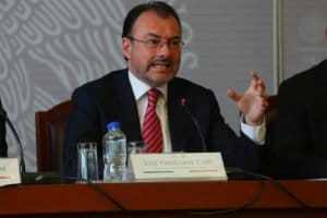 Videgaray: objections expressed through diplomatic note.