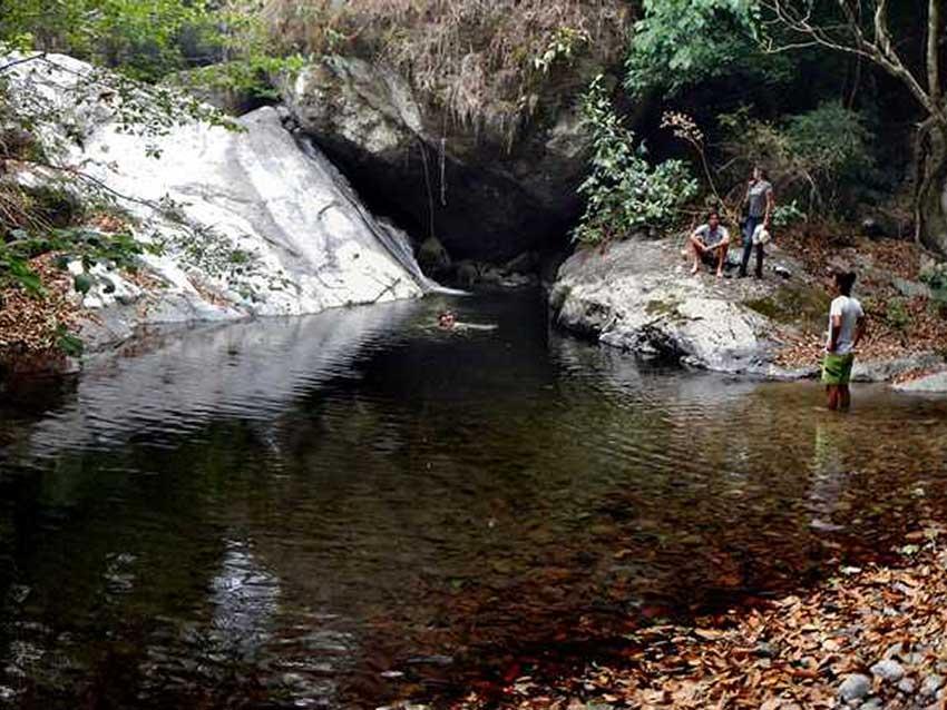 Pool downstream at Paso Hondo.