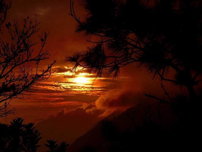 Sunset at El Refugio.