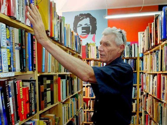 Booklover Gerry Smith.
