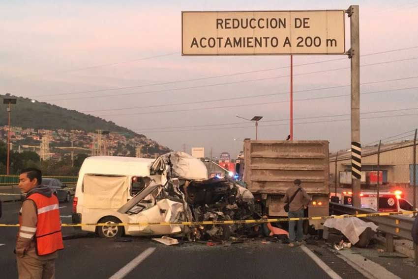 The accident that killed 12 this morning.