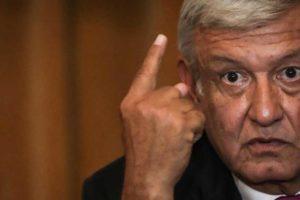 López Obrador presented his austerity plans yesterday.