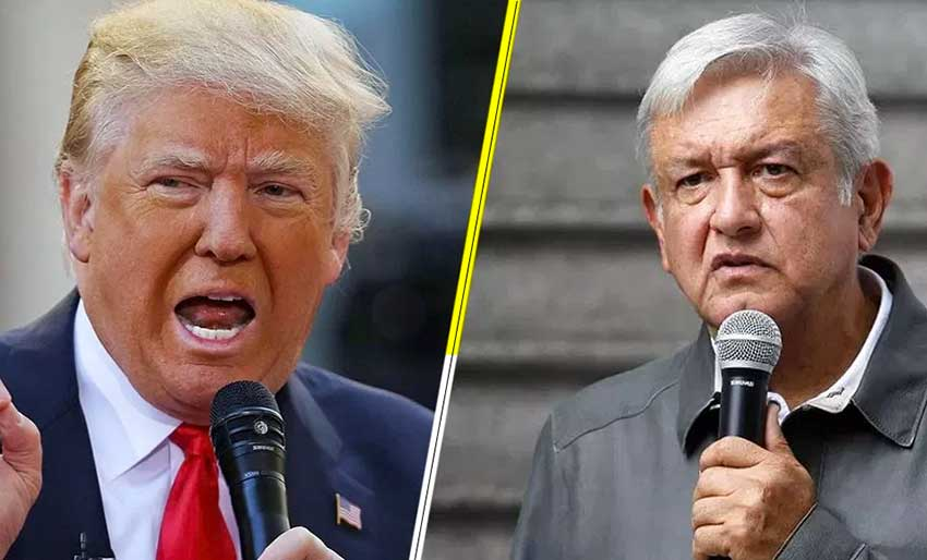 Trump and AMLO: letter seeks NAFTA conclusion.