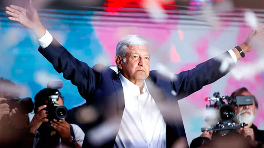 Andrés Manuel López Obrador will take office as Mexico's president on December. 1