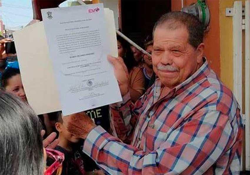 Mayor-elect Delgado was assassinated in Michoacán.