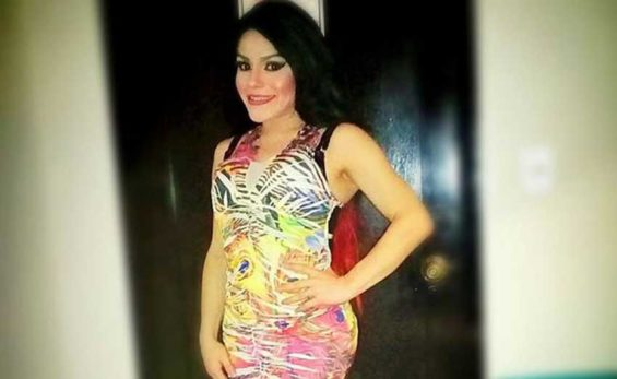 Gay beauty queen Contreras.