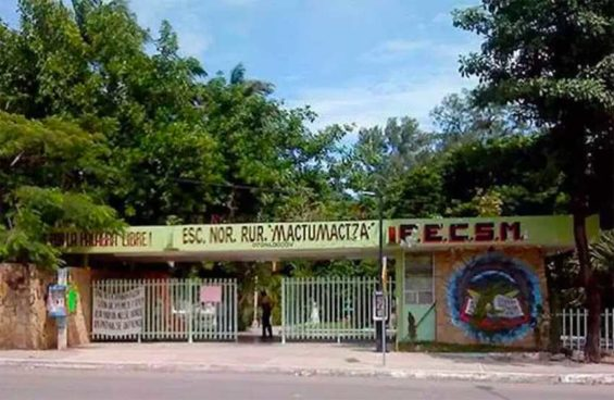The Chiapas school where a hazing is under investigation.