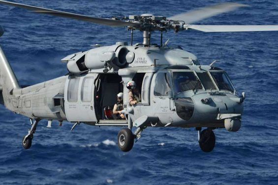 Cancelled: an order for eight Seahawk helicopters will be cancelled by the new president.