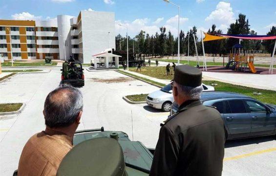 New military headquarters in Irapuato.