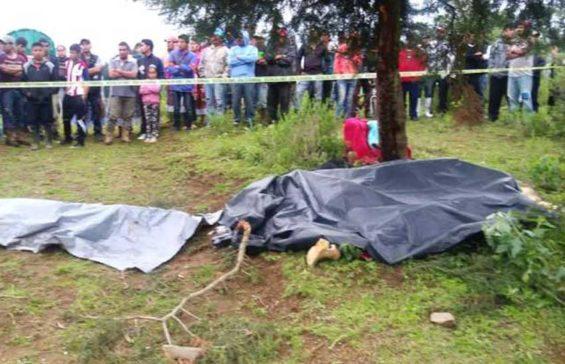 Scene of a fatal lightning strike in Michoacán yesterday.