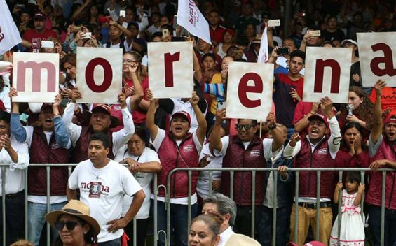 Morena, Mexico's new dominant political force.