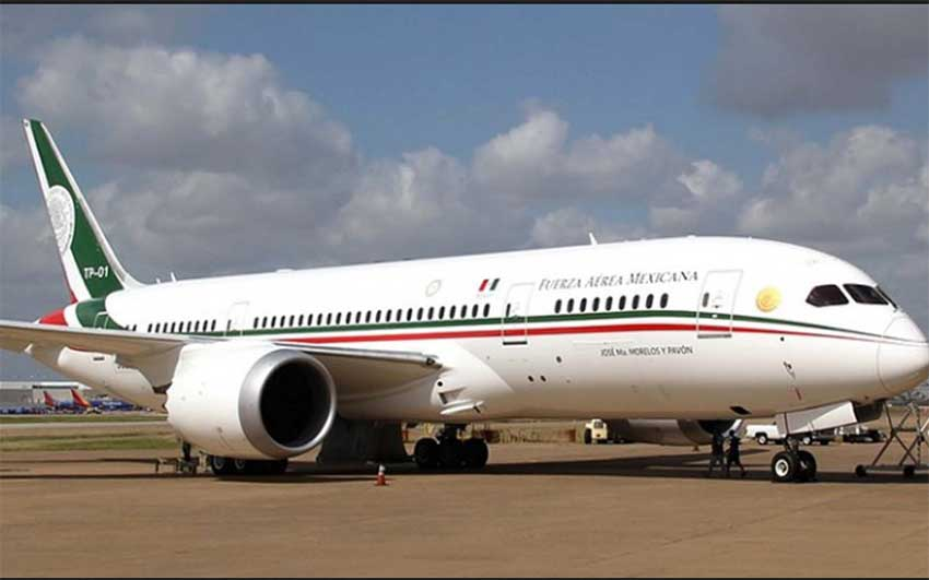 Selling the presidential Dreamliner is one of the austerity measures AMLO has announced.