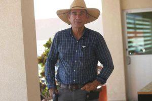Lee Shipley, Guerrero melon farmer.