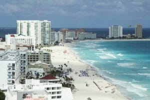 Beaches help maintain tourism growth in Quintana Roo.