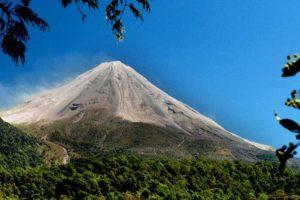 Colima's Volcán de Fuego is Mexico's most active volcano.
