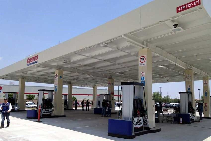 Costco has opened a gas station in Celaya, its first in Guanajuato.
