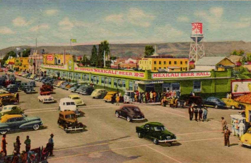 The original Long Bar in Tijuana.