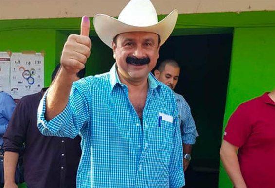Former San Blas mayor Ramírez.