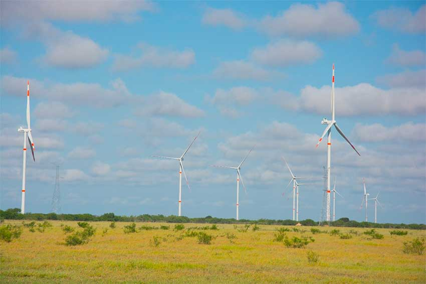 Reynosa I, Mexico's biggest wind farm.