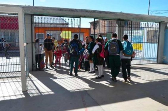 The school year began today across Mexico.