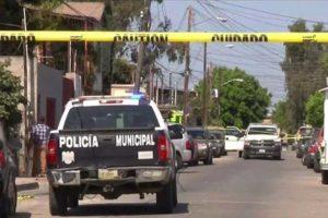 Tijuana crime scene.